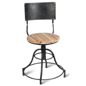 Барный стул Industrial Barstool Vintage Black