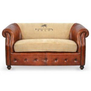 Диван POLO brown leather