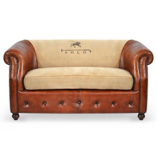 Диван POLO brown leather   - фото 1