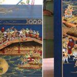 Китайский шкафчик для обуви Celestial Bridge   - фото 2