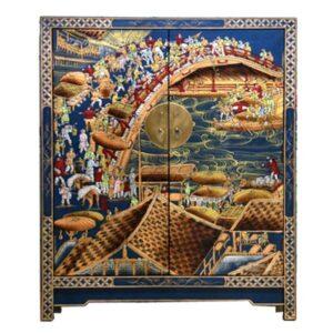 Китайский шкафчик для обуви Celestial Bridge
