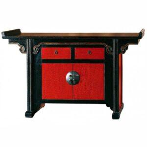 Китайский комод Red-black chest