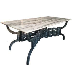 Дизайнерский обеденный стол Travertine