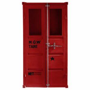 Шкаф-витрина Sea Container Red M.G.W.
