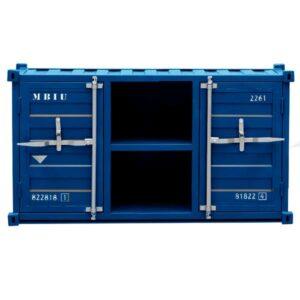 ТВ-тумба LOFT TV SEA CONTAINER синий металл