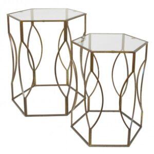 Набор из 2-х дизайнерских столов Oak Leaf