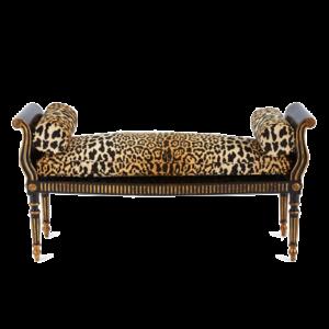 Оттоманка Attina Leopard Bench