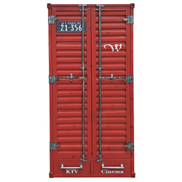 Платяной Шкаф Контейнер с двумя ящиками  - фото 1