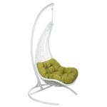 Подвесное уличное кресло Egg Half salat  - фото 1