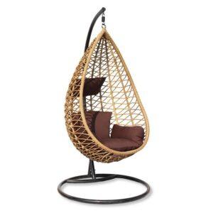 Подвесное уличное кресло Egg mango