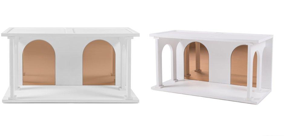Полка Seletti Renaissance Double White  - фото 3