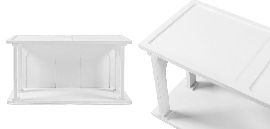 Полка Seletti Renaissance Double White  - фото 4