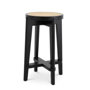 Полубарный стул Eichholtz Counter Stool Dareau black
