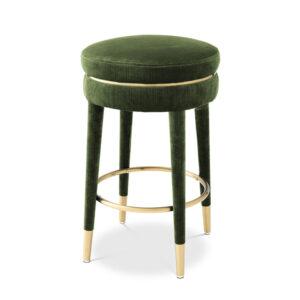 Полубарный стул Eichholtz Counter Stool Parisian green