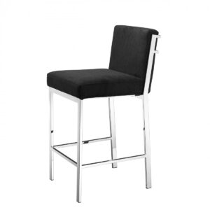 Полубарный стул Eichholtz Counter Stool Scott Steel