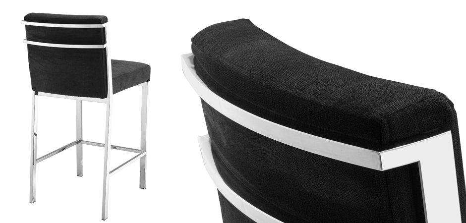 Полубарный стул Eichholtz Counter Stool Scott Steel  - фото 2
