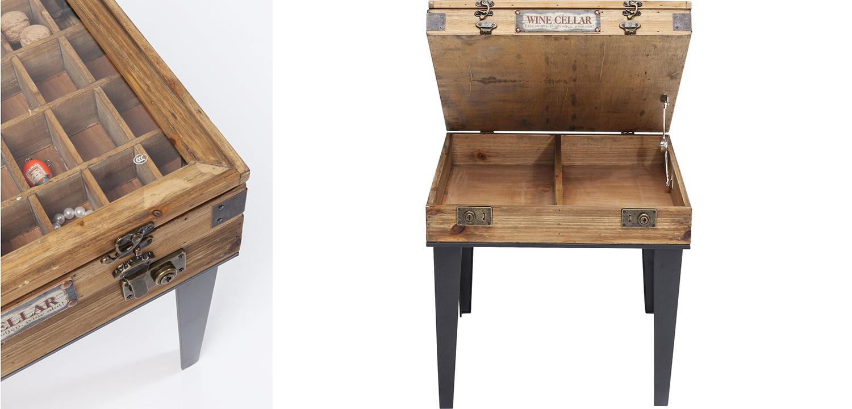 Приставной стол Wooden Wine Cellar  - фото 2