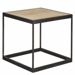 Приставной столик Industrial Oak Side Table