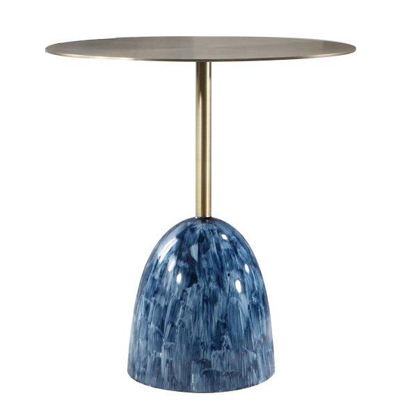 Приставной стол Blue Stains Table  - фото 1