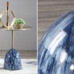 Приставной стол Blue Stains Table  - фото 2