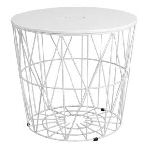 Приставной стол Cambria Side Table white