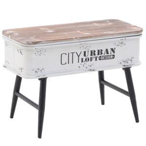 Приставной стол City Urban Loft Design Table white