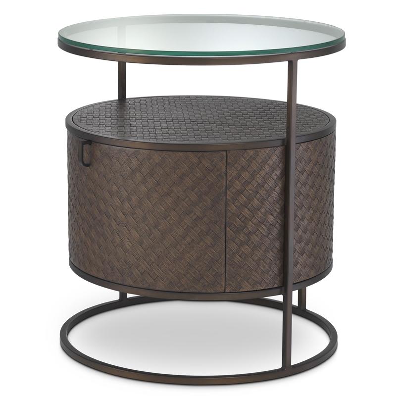 Приставной стол Eichholtz Bedside Table Napa Valley  - фото 1