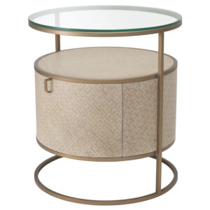 Приставной стол Eichholtz Bedside Table Napa Valley oak
