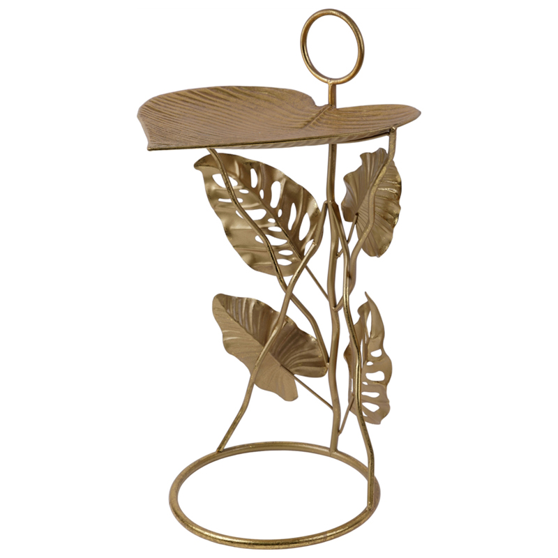 Приставной стол Monstera Leaves Side Table  - фото 1