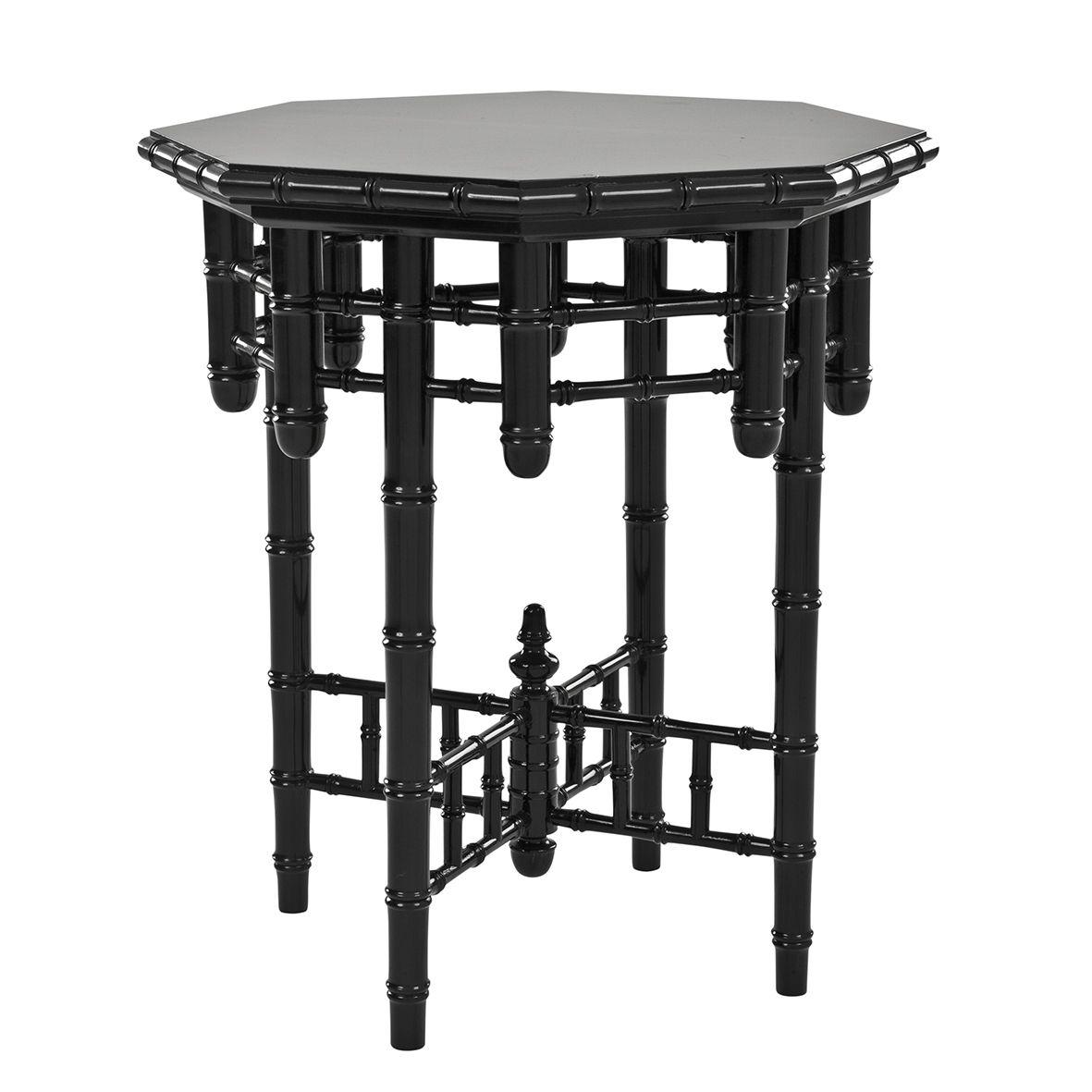 Приставной стол Eichholtz Side Table Octagonal  - фото 1