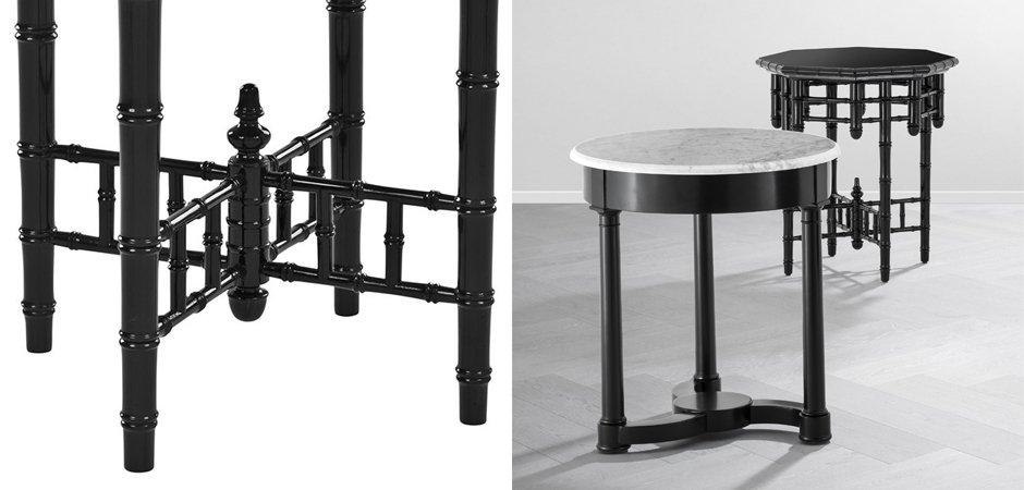 Приставной стол Eichholtz Side Table Octagonal  - фото 3