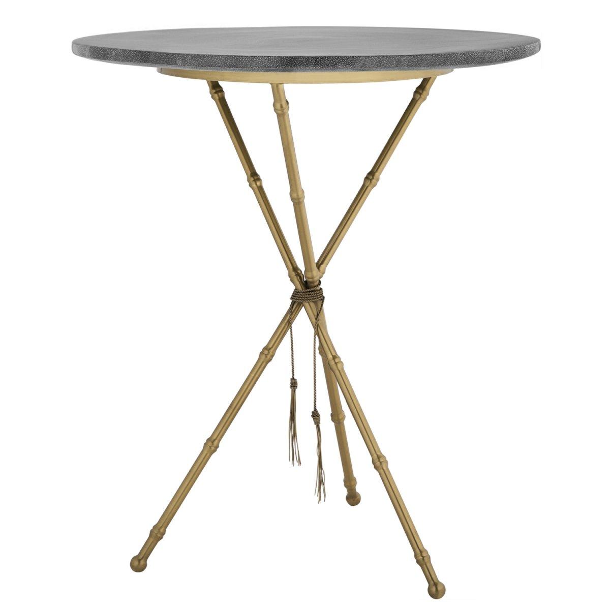 Приставной стол Stingray Skin Triangles   - фото 1