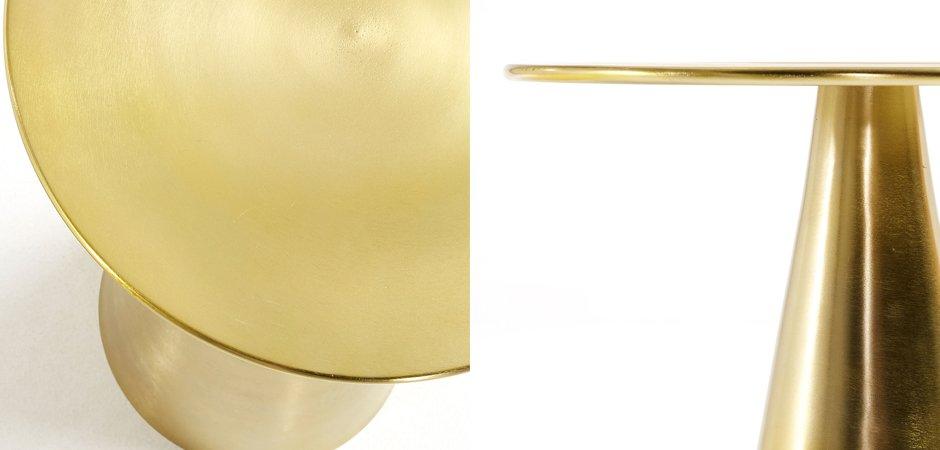 Приставной стол Table Golden Cone  - фото 2
