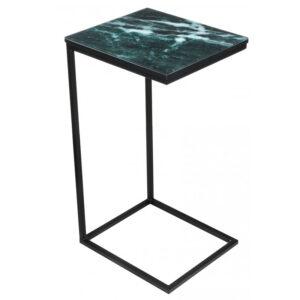 Приставной стол Zermatt Side Table malachite