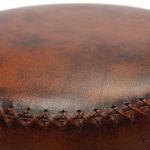 Пуф Vintage Buffalo Leather Pouf   - фото 2