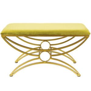 Пуф Art Deco Shapes Yellow