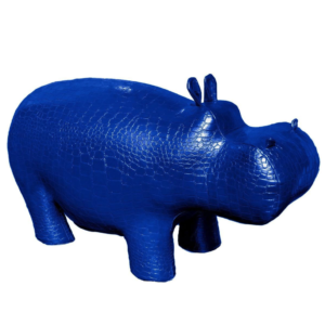 Пуф Бегемот Poof Hippo blue