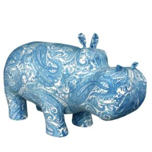 Пуф Бегемот Poof Hippo pattern