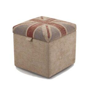 Пуф для хранения Jack Britannia Collection