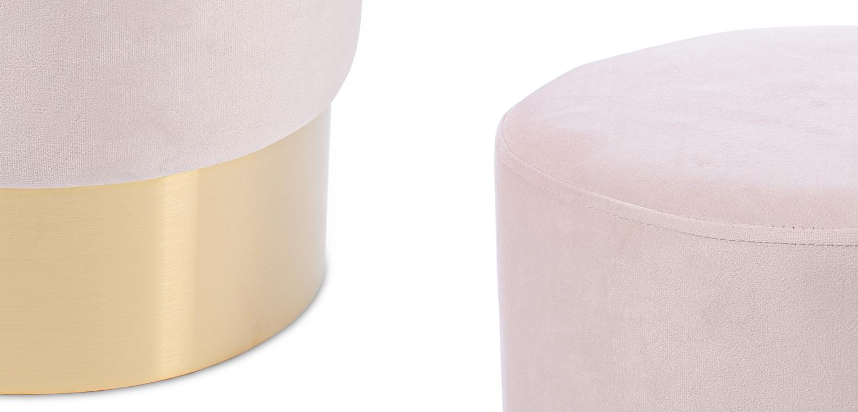 Пуф Una Puff light pink  - фото 2