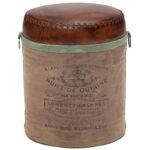 Пуф Vintage Buffalo Leather Pouf   - фото 1