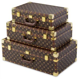 Ретро-чемоданы набор из 3-х штук
