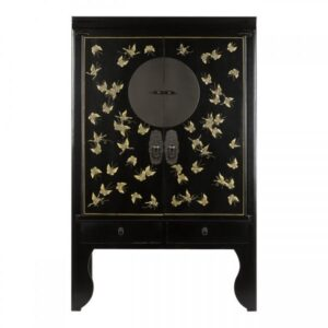 Шкаф Chinese Butterfly Black