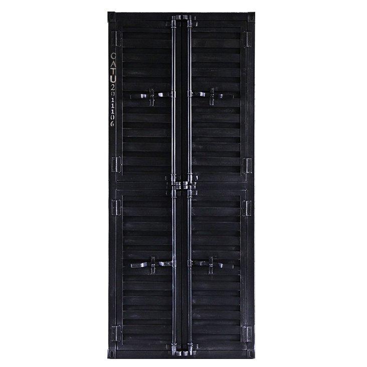 Шкаф Контейнер с полками 4 двери  - фото 1