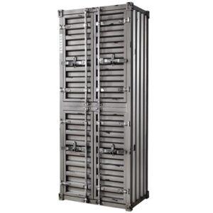 Шкаф Контейнер с полками 4 двери Silver