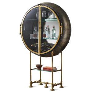 Шкаф Porthole Bar Restoration Hardware