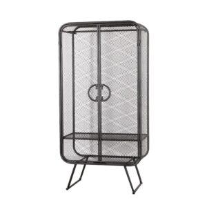 Шкаф Rhombic Grid Wardrobe Black