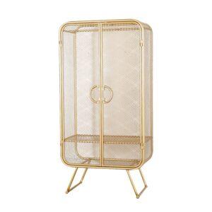 Шкаф Rhombic Grid Wardrobe Gold