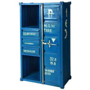 Шкаф-стеллаж Контейнер с тремя ящиками