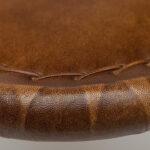 Складной кожаный стул Industrial Folding buffalo leather chair   - фото 4